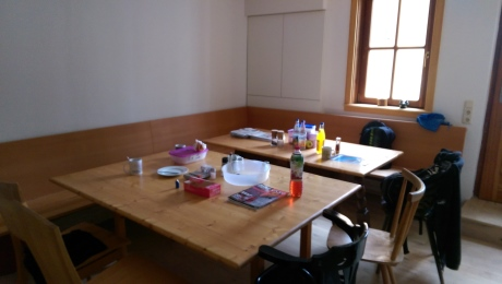 Umbau Sozialraum